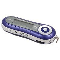 Low Cost MP3 Music Player with 1 GB of memory - Blue