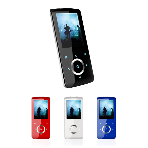 Coby mp705 mp3 player black 2gb 2inch color lcd