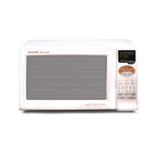 Sharp r820bw white microwave 0.9cf