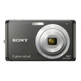 Sony Cybershot DSC-W180 10.1MP Digital Camera with 3x SteadyShot Stabilized Zoom and 2.7-inch LCD (Black)