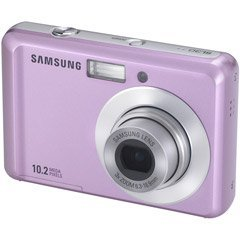 Samsung SL30 10MP Digital Camera with 3x Optical Zoom and 2.5 inch LCD (Pink)