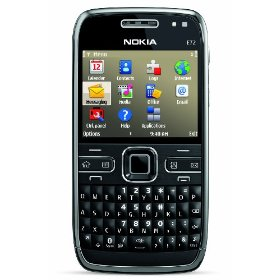 Nokia E72 Unlocked Phone including GPS with Free Voice Navigation -- U.S. Version with Full Warranty (Zodium Black)