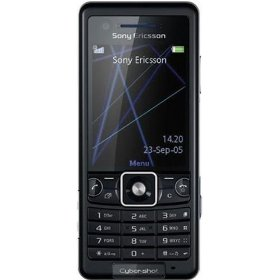 Sony Ericsson C510a  Cyber-Shot Unlocked Phone with 3.2 MP Camera, 3G, GSM, Media Player, and Bluetooth--U.S. Version with Warranty (Black)