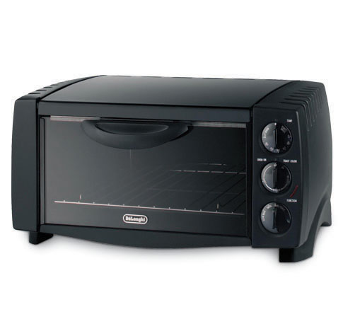 Delonghi eo1200 black toaster 6slice  bake broil