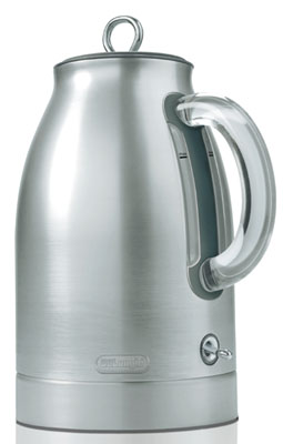 Delonghi dsj900 kettle aluminum hot water cordless