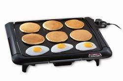 Presto 07045 griddle cool touch with tilt family size