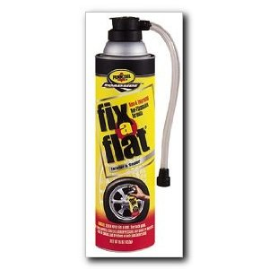 Fix-A-Flat - Tire Inflator with Hose, 16 oz., Case of 6 (S420-6-C)