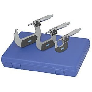 Digital Counter Outside Micrometer Set 0-3in.