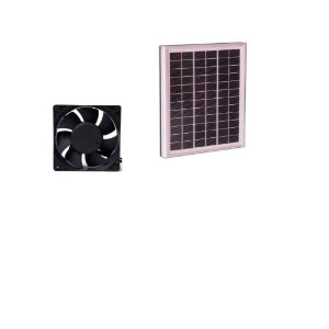 CDT-F1 Solar Power Fan - 1Watt 3 inch Fan #34001