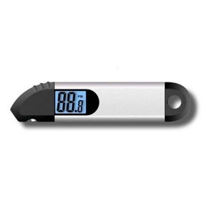 Accutire MS-4004B Digital Tire Gauge with Back Lit Display and LED Lighted Tip