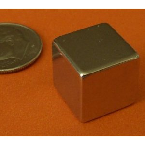 N50 Rare Earth Cube Magnets 1/2 Inch - Neodymium - 4 Pieces