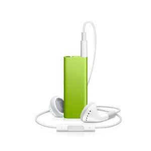 Apple iPod shuffle 4 GB Green (4th Generation) NEWEST MODEL