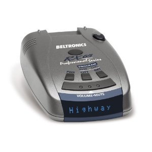 Beltronics RX65 BLUE Professional Series Radar (Black/Silver)