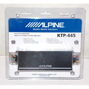 Alpine KTP-445 Head Unit Power Pack - Amplifier - 4-channel