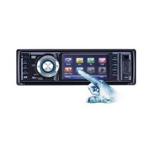 XO Vision XO9013T 3-Inch Touchscreen In-Dash DVD/CD/MP3 Receiver with Built-in TV Tuner, USB/SD Inputs, and Detachable Face