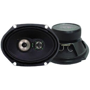 Lanzar - One Pair 6''x 8'' Three-Way Speaker System - VX683