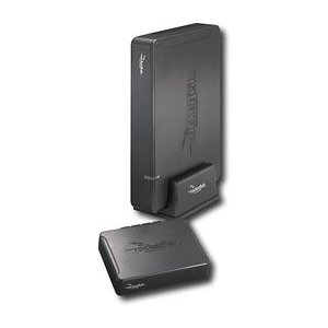 Rocketfish Wireless Rear Speaker Kit RF-WHTIB - Wireless audio delivery system for rear speakers