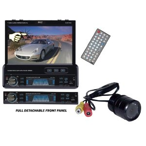 Pyle Hot DVD Player PLTS77DU Rearview Camera Package for Car/Truck/SUV