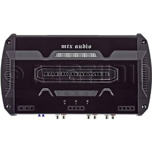 MTX JackHammer JH404 4-channel car amplifier -- 50 watts x 4 at 4 ohms