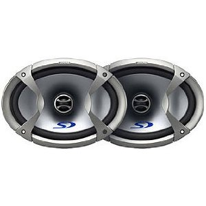 Alpine Type-S SPS-69C2 - Car speaker - 50 Watt - 2-way - coaxial - 6