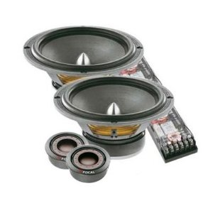 Focal Polyglass 165 VR 6.5-Inch 2-Way Component Speaker Kit