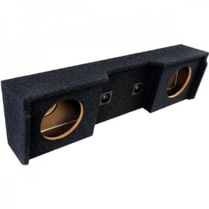 Atrend A152-10Cp B Box Series 10-Inch Dual Down-Fire Subwoofer Boxes