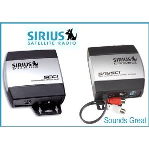 Complete Sirius Radio System for Satellite Ready Sony Receivers SNYC1 + SCC1