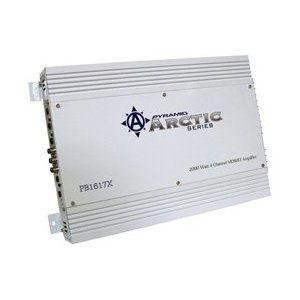Pyramid PB1617X 2000 Watt 4 Channel Bridgeable Mosfet Amplifier