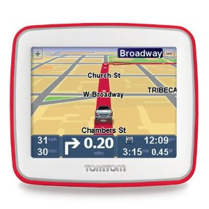 TomTom EASE 3.5-Inch Portable GPS Navigator (Red)