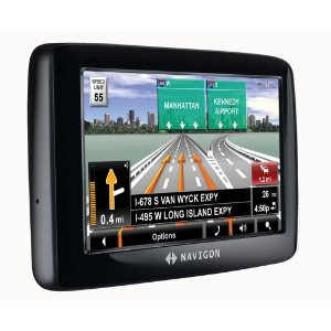 Navigon 2100 Max 4.3-Inch Portable GPS Navigator with Text-to-Speech (Factory Refurbished)