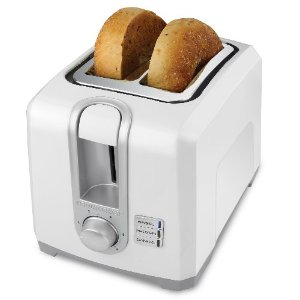 Black & Decker T2569 2-Slice Toaster, White