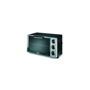 Delonghi Convection Toaster Oven with Rotisserie - Black (0.7 cu. ft.)