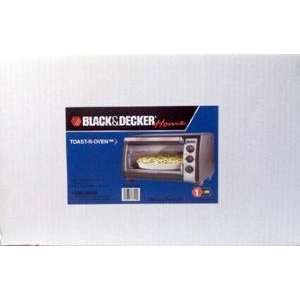 Black & Decker 4-Slice Convection Toast-R-Oven Broiler Black & Chrome TRO4070B