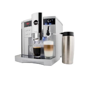 Jura-Capresso 13423 Impressa S9 One Touch Automatic Coffee-and-Espresso Center, Platinum