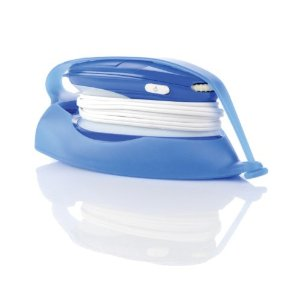 Sunbeam 2631 Hot-2-Trot Compact Nonstick Iron with Hot-Iron Silicone Storage Pouch