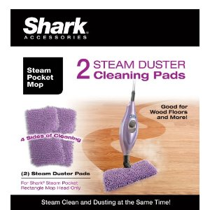 Euro-Pro Shark XT3501SD Steam Duster Microfiber Cleaning Pads, Set of 2
