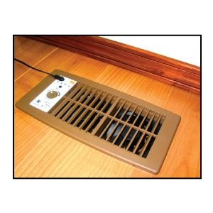 Suncourt HC500-B Brown Flush Fit Register Booster