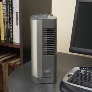 Ultra Slimline Personal Mini Tower Cooling Fan Small Desk Fan