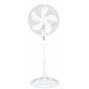 Optimus F-1667 16 in. Oscillating Stand Fan