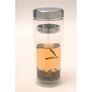 Glass Tea Cup Thermos - 12 ounce