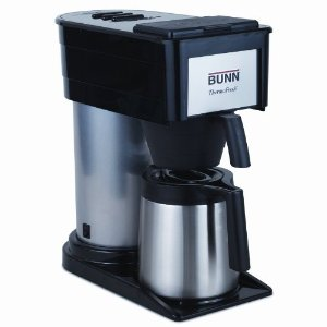 Bunn BTX-B(D) ThermoFresh High Altitude 10-Cup Commercial-Style Coffee Brewer, Black
