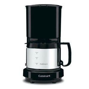 Cuisinart � Commercial 4-cup Coffeemaker - Stainless Steel (Free Coffee Samples)