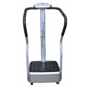 Crazy Fit Massager Body Vibration Plate Exercise Machine