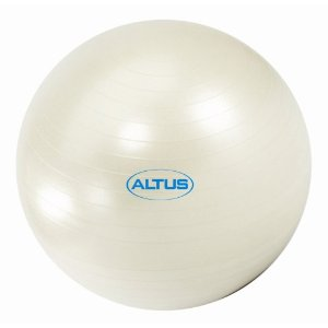 Altus Athletic 65cm 600-Pound Body Ball with DVD (Pearl)