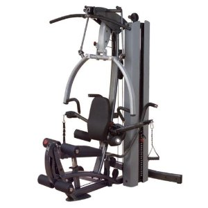 Body Solid Fusion 600 (F600/2) Personal Trainer Home Gym w/ 210 Lb. Weight Stack