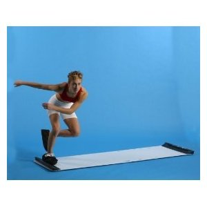 Stroops 7' Slide Board with Boots