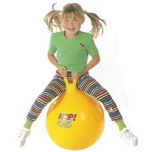 Gymnic Yellow Hop Ball - 45cm