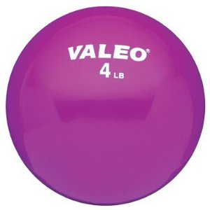 Valeo WFB4 4-Pound Weighted Fitness Ball (4lb)
