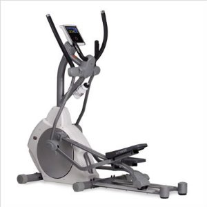 ST Fitness Total Body Elliptical Trainer Self-gen with Alum Rails