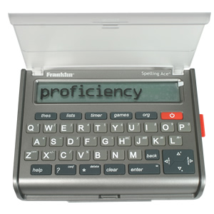 Franklin sa309 spell checker puzzle solver